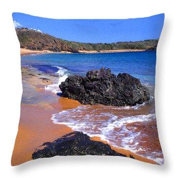 Cabeza Chiquita Throw Pillow by Thomas R Fletcher