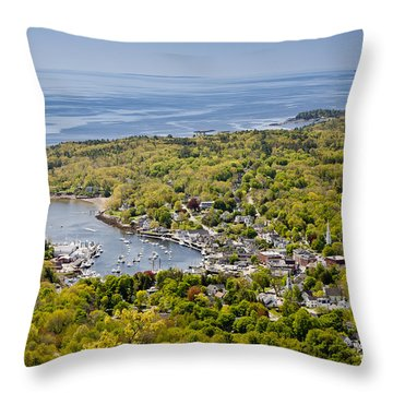 Camden View Throw Pillow by Susan Cole Kelly