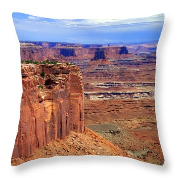 Canyonlands 4 Throw Pillow by Marty Koch