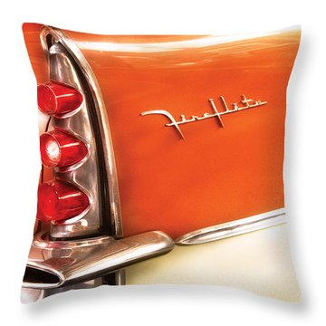 Car - The Wing Throw Pillow by Mike Savad