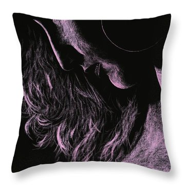 Carmen Throw Pillow by Richard Young