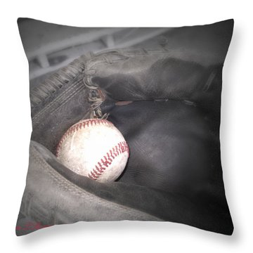 Catch Me Throw Pillow by Shana Rowe Jackson