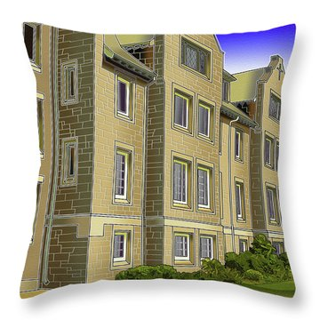 Catonsville United Methodist Church Throw Pillow by Stephen Younts