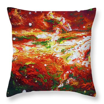Centaurus Throw Pillow by Ericka Herazo