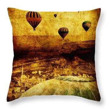 Cerebral Hemisphere Throw Pillow by Andrew Paranavitana