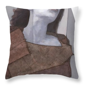 Cessair Throw Pillow by Steve Mitchell