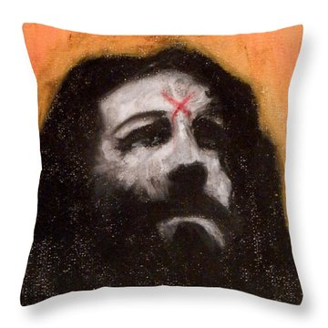 Charlie Is Man Throw Pillow by Sam Hane