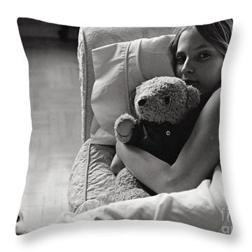 Childhood Throw Pillow by Madeline Ellis