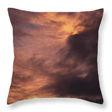Clouds Throw Pillow by Clayton Bruster