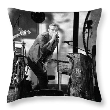 Coldplay 15 Throw Pillow by Rafa Rivas