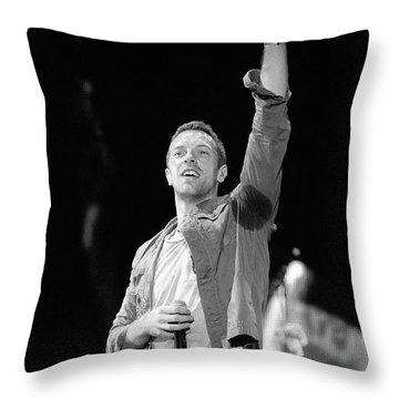 Coldplay 16 Throw Pillow by Rafa Rivas