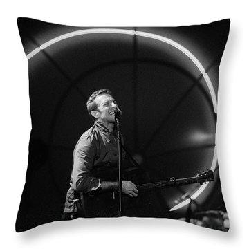 Coldplay11 Throw Pillow by Rafa Rivas