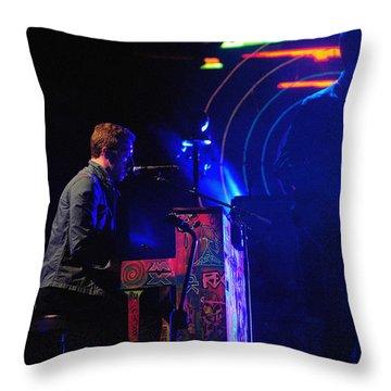 Coldplay2 Throw Pillow by Rafa Rivas