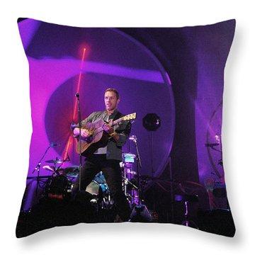 Coldplay5 Throw Pillow by Rafa Rivas