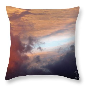 Color Palette Throw Pillow by Brian  Commerford