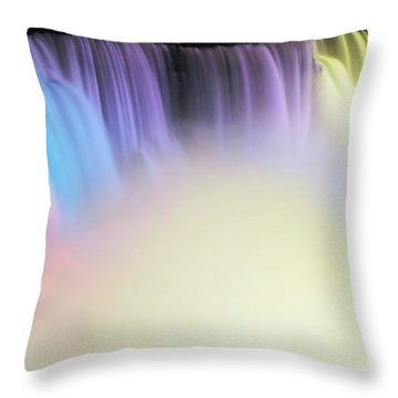 Colors Throw Pillow by Kathleen Struckle