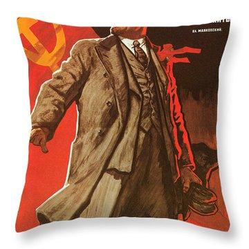 Communist Poster, 1967 Throw Pillow by Granger