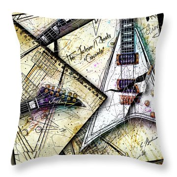 Concordia Throw Pillow by Gary Bodnar