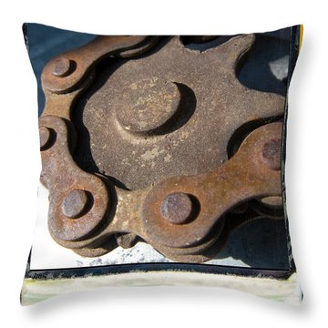 Connected Throw Pillow by Jeffery Ball