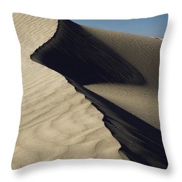 Contours Throw Pillow by Chad Dutson