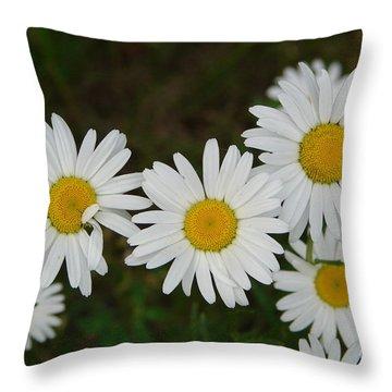 Coral Throw Pillow by Priscilla Richardson