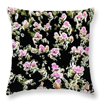 Coral Spawning  Throw Pillow by Lanjee Chee