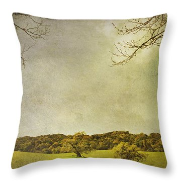 Count On Me Throw Pillow by Laurie Search
