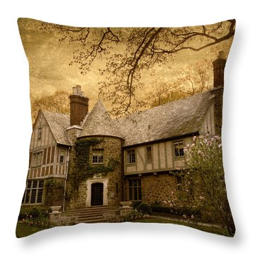 Country Estate Throw Pillow by Jessica Jenney