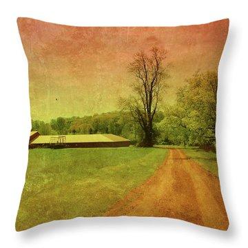 Country Living - Bayonet Farm Throw Pillow by Angie Tirado
