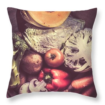 Country Style Foods Throw Pillow by Jorgo Photography - Wall Art Gallery