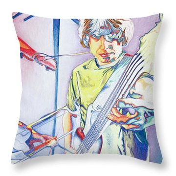 Coventry Phish Throw Pillow by Joshua Morton