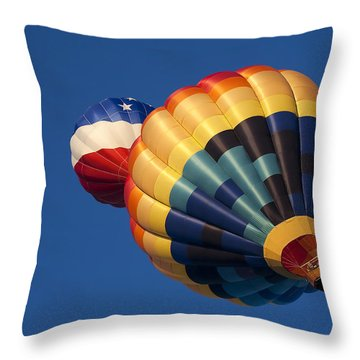 Crowded Pattern Throw Pillow by Mike  Dawson