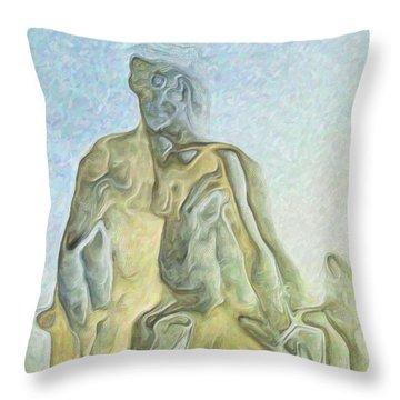 Cyclops Throw Pillow by Joaquin Abella