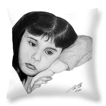 Dannie Throw Pillow by Peter Piatt