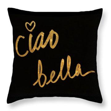 Darling Bella II Throw Pillow by South Social Studio