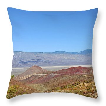 Death Valley National Park - Eastern California Throw Pillow by Christine Till