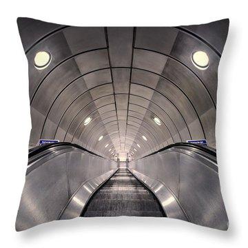 Deep Down Below Throw Pillow by Evelina Kremsdorf