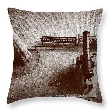 Defending London Throw Pillow by Joseph Westrupp