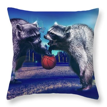 Defense Throw Pillow by Jonny Lindner