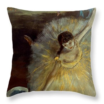 Degas: Arabesque, 1876-77 Throw Pillow by Granger