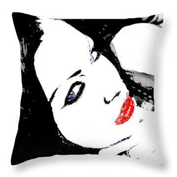 Deviant Throw Pillow by Tbone Oliver