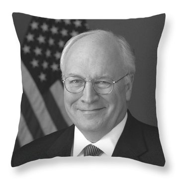 Dick Cheney Throw Pillow by War Is Hell Store