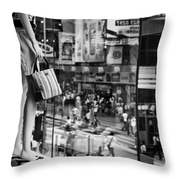 Display Throw Pillow by Dave Bowman