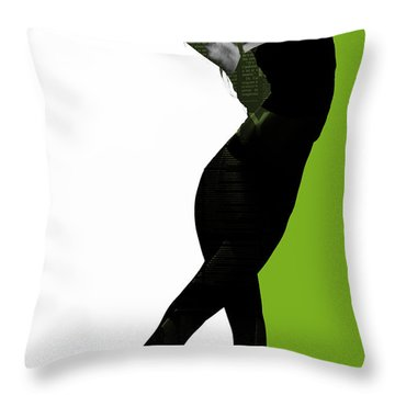 Divided Throw Pillow by Naxart Studio
