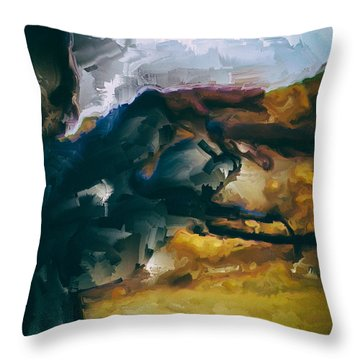 Donald Rumsfeld Gwot Vision Throw Pillow by Brian Reaves