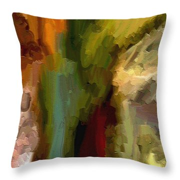 Double Indemnity Throw Pillow by Ely Arsha