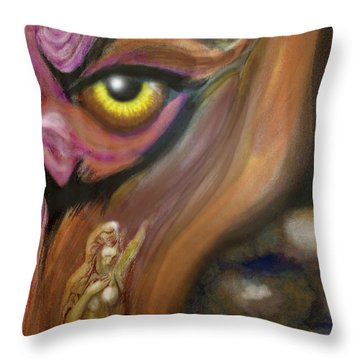 Dream Image 3 Throw Pillow by Kevin Middleton