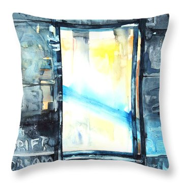 Drift Dream I Was There Throw Pillow by Patricia Allingham Carlson
