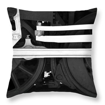 Drive Train Throw Pillow by Mike McGlothlen