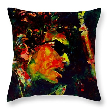 Dylan Throw Pillow by Greg and Linda Halom